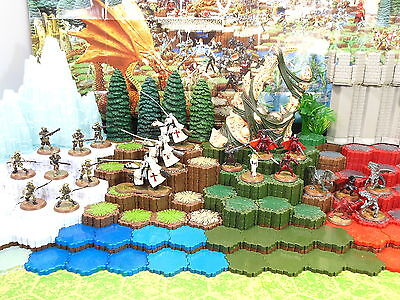 Heroscape Wave 7 Fields of Valor- Templar, Ashigaru, Vampires, Isamu & More