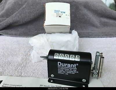 Durant Eaton 5 digit Stroke Counter 5 D 1 1 R New in Box  34269402  5-D-1-1-R