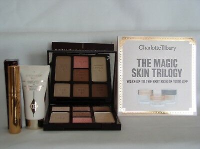 charlotte tilbury instant look in a palette beauty glow w/ extras