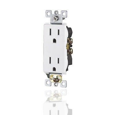 WG Collection  UL Duplex Receptacles  TR  15A Outlet Child-Safe Plugs 10 PACK