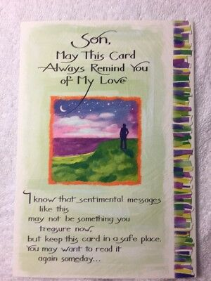 Blue mountain arts greeting card son may this card always remind you blue mountain arts greeting card son may this card always remind you of my love m4hsunfo