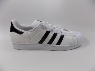 info for 03bb4 ebf0f Adidas Originals Superstar White Snakeskin Black lot D70171 Size 13 NEW
