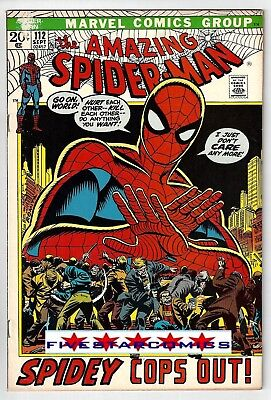 AMAZING SPIDER-MAN (vol.1 1963) #112  FINE+ (6.5)