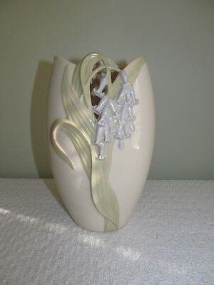 Collectible 7 1/4 Tall  Lenox Blue Bell Flower Vase