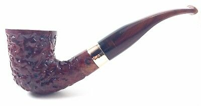 0d8e0f78179d NEW Hand Crafted Italian Briar Hand Carved 1 2 Bent Dublin With Acrylic Stem