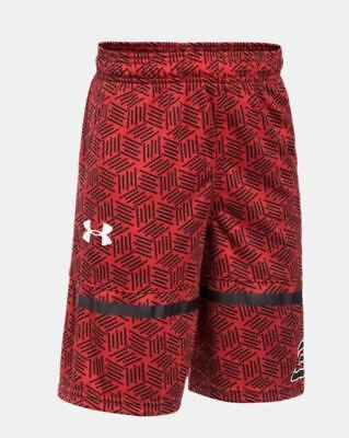Under Armour Boys Heatgear Shorts Red STEPHCURRY SC30 Printed Size:YLG NWT - R5