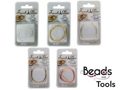 FRENCH WIRE - 5 colours - Conceal & Protect bead & pearl cord Bullion Gimp