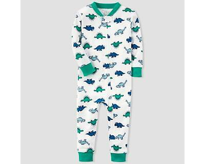 Toddler Boys' 1pc Dino Sleep Coverall - little planet organic by carter's