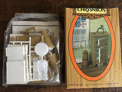 Nos Chrysnbon F 300 Ice Box Churn Tongs Pick Pan Kit Sealed Bag Usa-Made 1:12