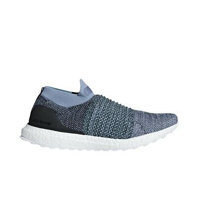 ADIDAS X PARLEY UltraBoost Laceless (Raw GreyCarbon Blue) Men's Shoes CM8271