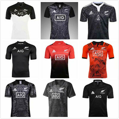 All Black Rugby Jersey 12 models Size :S-3XL