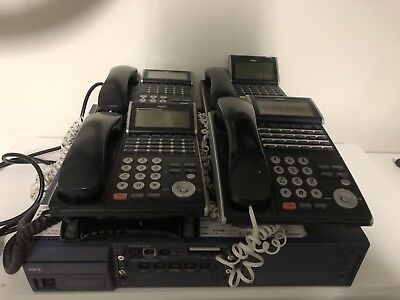 NEC SV8100 Phone System with 4 Handsets. Includes Voice Mail.