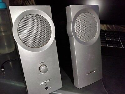Bose Companion 2 Series I Multimedia Speaker System - Silver (Great Condition)