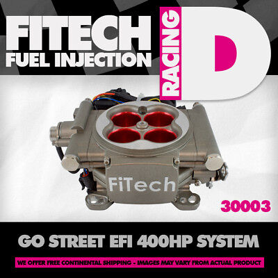 FITECH 39001 GO EFI 2 Barrel 400HP Fuel Injection System - $795 00