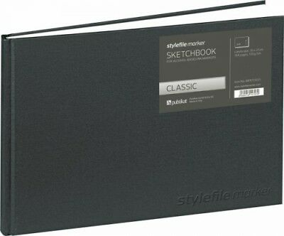 Stylefile Marker Classic Sketchbook / Skizzenbuch Din A4 horizontal (Sonstiges)