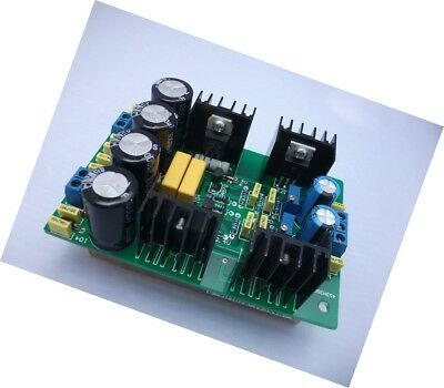 class a parallel regulated power supply finished board for