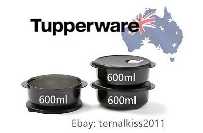 NEW Tupperware Microwave Reheating Heat N Eat Round Rectangle~600ml, 1L, 1.5L