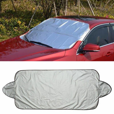Front Rear Windshield Car Window Sun Shade Snow Ice Shield Protector Foldable
