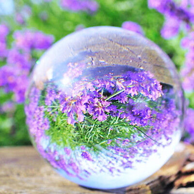 K9 Clear Glass Crystal Ball Healing Sphere Photo Props Gifts Home Decoration