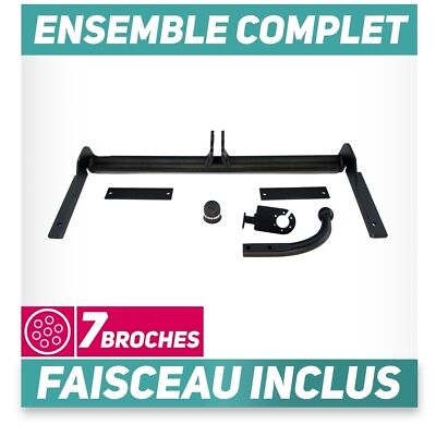 Attelage rigide Opel Astra II G Coupe 00-05 +faisceau 7 broches