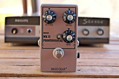 Mojo Gear Professional MkII Tone Bender Fuzz Pedal with OC81 transistors