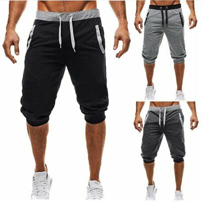Summer Men's Casual Comfy Shorts Baggy Gym Sport Jogger Sweat Beach Pants