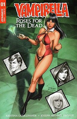 Vampirella: Roses For The Dead Comic 1 Linsner Cover A Dynamite 2018