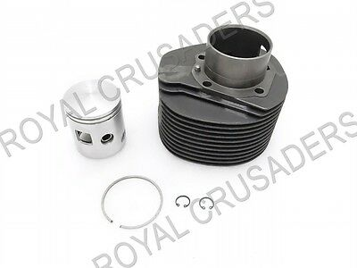 New Vespa Px 200/cosa Cylinder Barrel Piston Kit 66.50Mm #vp65