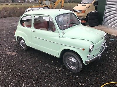 fiat 600 classic car lhd 500 import from italy project barn find