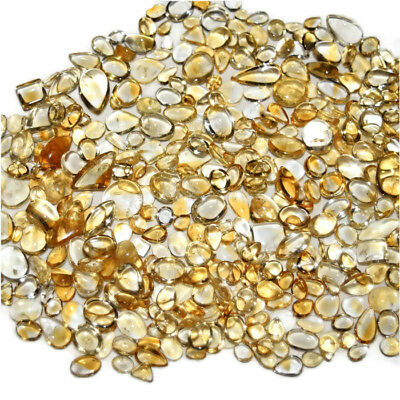 Natural Citrine Mix Size & Shape Cabochon Loose Gemstone Wholesale Lot