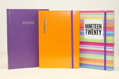 2018-2019 Academic Slimline, A5 Or A4 'week To View Or Day A Page' Diary Planner