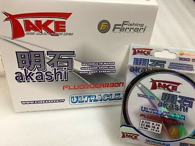 Akashi Ultra clear fluorocarbon line