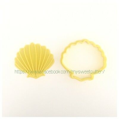 Conchiglia Estate Formine Biscotti FORMINA COOKIE CUTTER 6 Cm