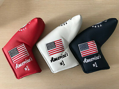 Golf Cover Headcover America For Titleist Scotty Cameron Odyssey Putter Gift