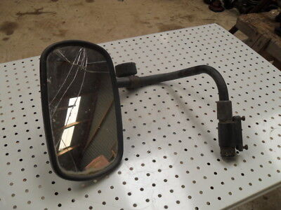 Ford New Holland 7840 L.H. Cab Mirror Bracket (Glass has Crack)