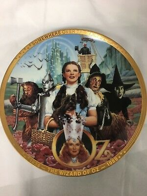 "The Wizard of Oz ""Fifty Years of Oz"" 50th Anniversary Porcelain Plate"