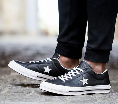 2converse one star leather low top