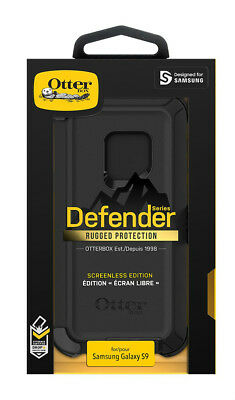 New OEM OtterBox Defender Series Black Case For Samsung Galaxy S9