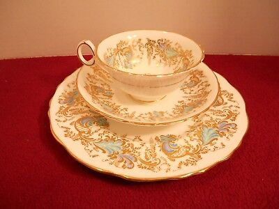 "Vintage Royal Cauldon Trio Set ""Gainsborough"" V9834"