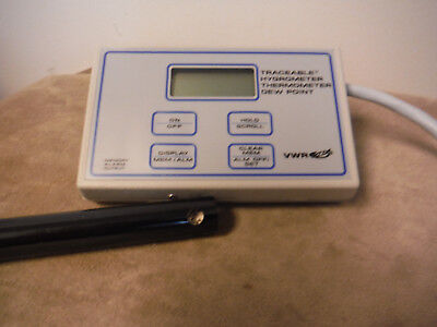 VWR Traceable Hygrometer, Thermometer, Dew Point