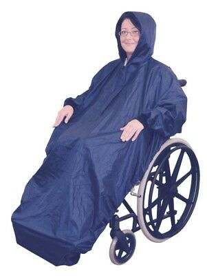 Wheelchair Rain Mac With Sleeves