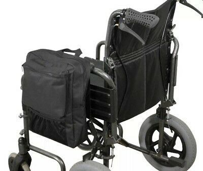 Scooter Wheelchair armrest Pannier storage Bag