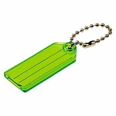 (5 Packs) Lucky Line I.D. Key Tag With Chain