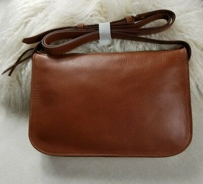 fc85cc248bd8 MADEWELL THE SIMPLE Crossbody Bag English Saddle Leather New ...