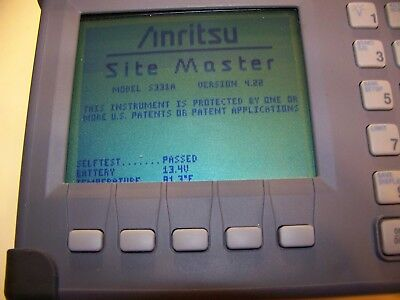 Nice Anritsu S331A Site Master + soft case, new Battery,new Charger Fully Tested