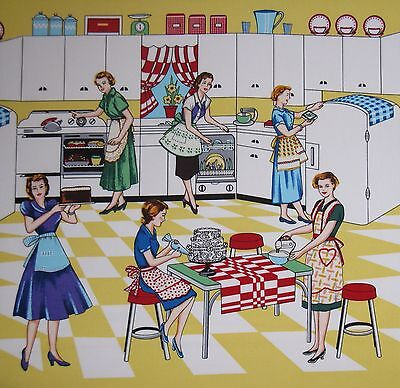 Vintage Kitchen Fabric Simple Inspiration Design