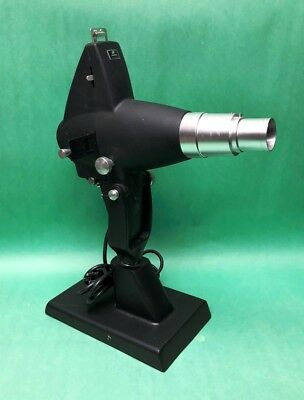 "Marco Chart Projector w/ Slide & Stand ""No Bulb"" P-O-C"