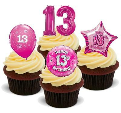 Baking Accs. & Cake Decorating Special Section 12th Birthday Netball Precut Cupcake Toppers Cake Decorations Girls Daughter Other Baking Accessories
