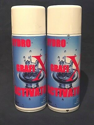 2 x hydro graphic dipping activator, 400 ml aerosol, 60 second dipping window