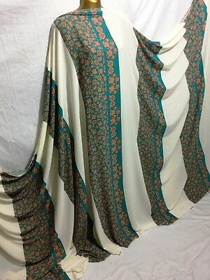 """DUCK EGG BLUE Fine Silky Sateen Georgette Dress Fabric Draping Lining 55/"""" O1144"""